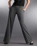 BELT LOOPS, POCKETS, FRONT ZIPPER, WIDE LEGS, 2 BUTTON WAISTBAND