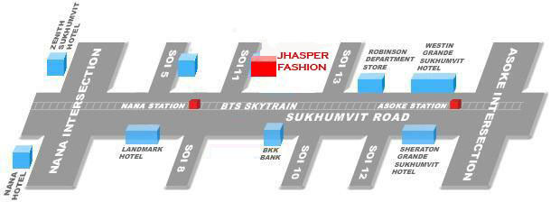 Jhassper Fashion tailor store map